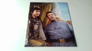 doctor who william russell (ian) 10x8 autograph photo