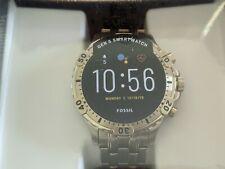 Fossil Smartwatch Gen 5 Garrett HR Gold-Tone Stainless Steel FTW4039