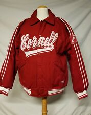 Stall & Dean Cornell University Jacket Button Up Varsity BIG RED Ivy League Coat