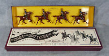 Vintage W. Britains 1997 Collectors Edition Charge of the Light Brigade #3109