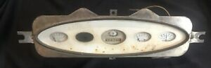 Antique 1930s Dash Gauge Cluster Northeast Appl Corp Rochester Ford Model A or ?