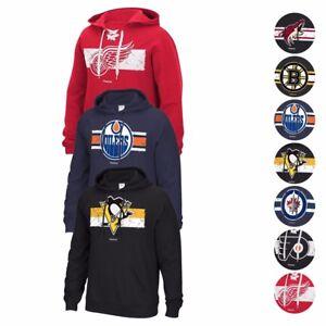 """NHL Reebok Various """"Honor Code"""" Team Logo Pullover Hoodie Fleece Men's"""