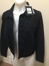 10 S BETTINA LIANO DENIM JACKET NWT $139 *BUY FIVE OR MORE ITEMS GET FREE POST
