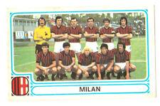 MILAN squadra 182 FIGURINA CALCIATORI PANINI 1978-79 1979 Con velina originale