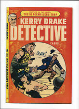 """KERRY DRAKE DETECTIVE CASES #24 [1951 VG+] """"THE BLACKMAILER'S TRAP"""""""