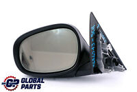 BMW 3 Series E90 E91 LCI Power Fold Auto Dip Left Wing Mirror N/S Schwarz Black