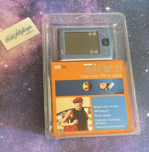 Palm One Zire 31 Handheld PDA Organizer Color Screen MP3 Player Calendar NOS '04