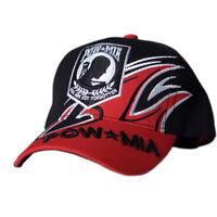 US Honor Embroidered Shark Fin POW/MIA Baseball Caps Hats