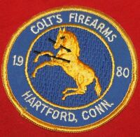 COLT FIREARMS FACTORY Rampant Colt Patch  1980