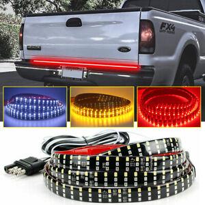 "49"" Truck Tailgate Strip 432 LED Sequential Turn Signal Brake Reverse Light Bar"