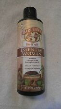 Barlean's Omega Swirl Essential Woman Vegan Formula 16 Oz Chocolate Mint Flavor