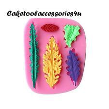 Foglie Stampo In Silicone Stampi Per Biscotti Decorazione Torte Cottura Al Forno