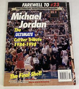 Michael Jordan Tribute 1999 Gold Collectors Series Farewell To #23 Chicago Bulls