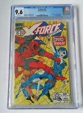 X-FORCE 11 CGC 9.6✨1ST DOMINO APPEARANCE.✨ STUNNING