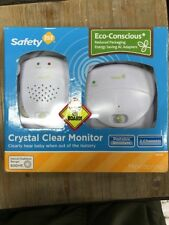 SAFETY 1st CRYSTAL CLEAR AUDIO BABY MONITOR