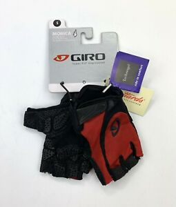 Giro Monica Women's Cycling Gloves Red / White Size Small New