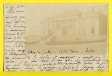 """cpa CARTE PHOTO de 1904 Kodak """"Solio Mat"""" LES SABLES d'OLONNE Palais de Justice"""