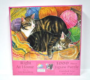 Right at Home Jigsaw Puzzle 1000 Piece