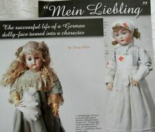 7p History Article   Pics - Antique Mein Liebling German K*R Dolly Face Dolls
