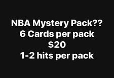 Panini UD NBA Repack 6 Cards Mystery Pack Zion, Ja, KD, Giannis RC SP Auto 1/1