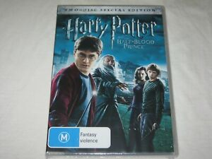 Harry Potter And The Half Blood Prince - Brand New & Sealed - Region 4 - DVD