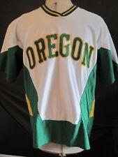 Vintage Oregon Ducks Basketball Game Used Nike Shooting Jersey Worn by #20 Lewis