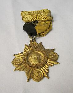 Rare Vintage ~ Sovreign Grand Lodge I.O.O.F. ~ 100th Anniversary 1819-1919 Medal