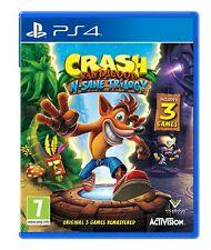 Crash Bandicoot n Sane trilogía PS4 3 Juegos Nueva PlayStation sellado de fábrica