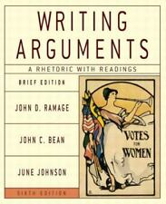Writing Arguments: A Rhetoric with Readings, Brief Edition (6th Edition)
