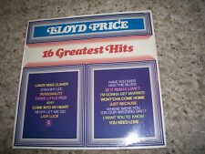 Lloyd Price LP-16 Greatest Hits-1972-ABC-FACTORY SEALED