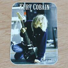 Kurt Cobain (Nirvana) Logo Official Vinyl Sticker (96mm)
