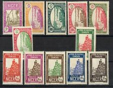 NIGER: SERIE COMPLETE DE 12 TIMBRES N°74/85 NEUF* Cote: 12€