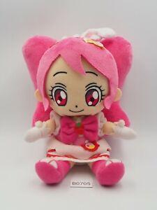 "KiraKira Precure B0705 Pretty Cure WHIP Plush 8"" Bandai 2017 Toy Doll Japan"