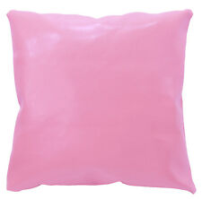 pe231a Pink Faux Leather Classic Pattern Cushion Cover/Pillow Case Custom Size