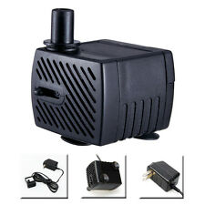 40gph Submersible Fountain Pump UL Listed 2 Watts Low Voltage 12V 1.6ft Max-Head