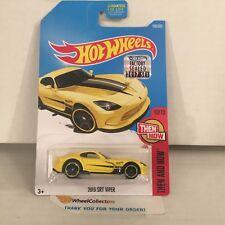 2013 SRT Viper #199 * Yellow * 2017 Hot Wheels FACTORY SET Edition