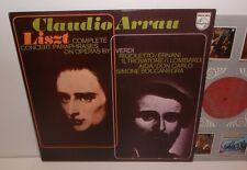 6500 368 Liszt Complete Concert Paraphrases On Operas By Verdi Claudio Arrau