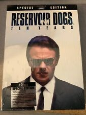 Reservoir Dogs Ten Years Special Edition Dvd New Sealed