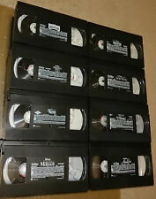 Choose any 13 disney vhs tapes from 40 tape selection