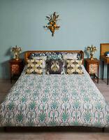 The Chateau By Angel Strawbridge Deco Heron Navy / Grey Reverse Duvet Cover Set