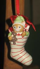 Kitty Cucumber Kitty In Stocking Ornament Mnb
