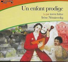 LIVRE AUDIO / LITTERATURE JEUNESSE - UN ENFANT PRODIGE : IRENE NEMIROVSKY