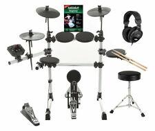 Digital E-Drum-Set Hocker Kopfhörer Schlagzeug Komplettset Drumset USB MIDI