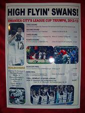 Swansea City capital una Taza Run 2012/13-Souvenir de impresión