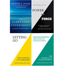 Transcending The Levels Of Consciousness,Letting Go 4 Books Colllection Set NEW