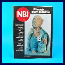 DDR-Zeitschrift NBI 47/1988 - Suhl EK Lichtenberg Chile Rosa Mota 1918 Galerie