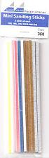 Albion Alloys 360 Pack Assortment Mini Sanding & Finishing Abrasive Sticks New
