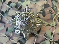 4th / 7th Dragoon Guards Cap Badge Silver Coloured