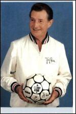 FRITZ WALTER Fussball FCK Porträt m. Druck-Unterschrift