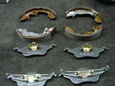 FORD FOCUS ESTATE HATCH ZETEC TDDi TDCi FRONT BRAKE PADS REAR BRAKE SHOES